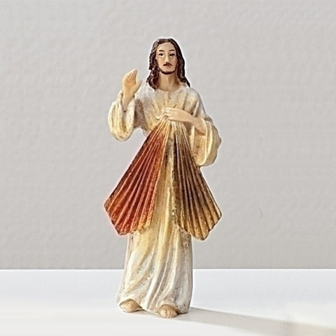 "3.5"" Divine Mercy Statue - The Paschal Lamb"