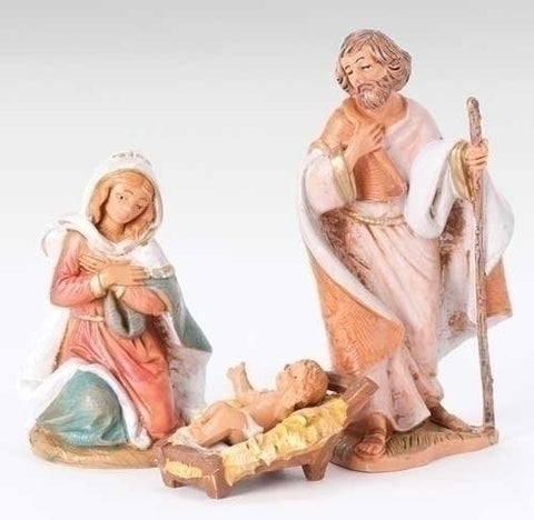 Holy Family Nativity Figures - The Paschal Lamb