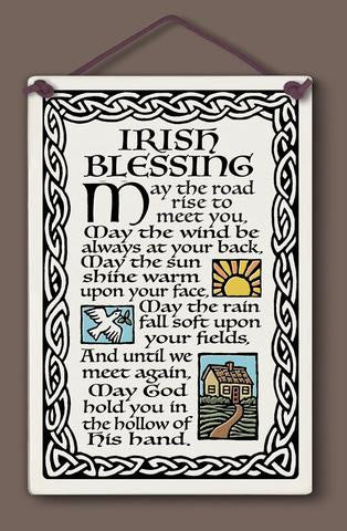Irish Blessing Plaque - The Paschal Lamb