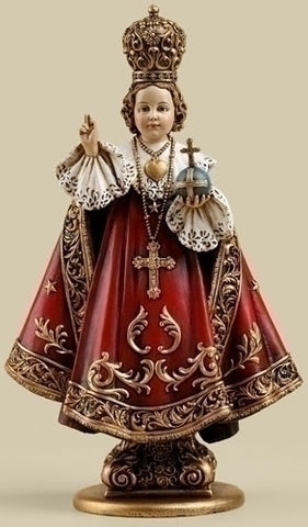 "7.75"" Infant of Prague Staute - The Paschal Lamb"