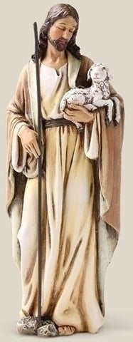 "6.25"" Good Shepherd Statue - The Paschal Lamb"