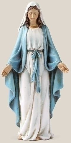 "6"" Our Lady of Grace Statue - The Paschal Lamb"