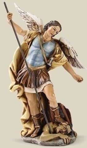 "7.25"" St. Michael Statue - The Paschal Lamb"