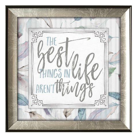 the best things in life aren't things james lawrence print - paschallambselect.com