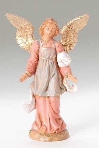 Fontanini Standing Angel Figure - The Paschal Lamb