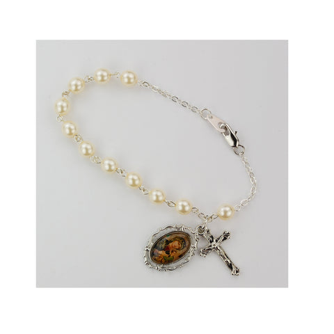 Our Lady of Perpetual Help Rosary Bracelet - paschallambselect.com