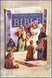 Illustrated Catholic Children's Bible - The Paschal Lamb