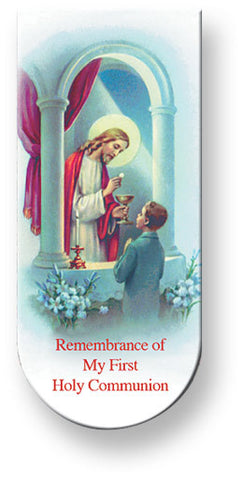 First Communion Bookmark - The Paschal Lamb