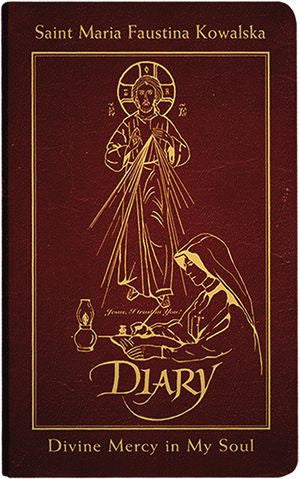 Diary of Saint Maria Faustina Kowalska  Divine Mercy in My Soul -- Leather - The Paschal Lamb