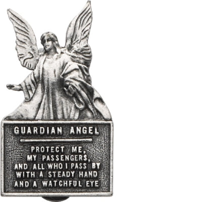 Guardian Angel Visor Clip - The Paschal Lamb