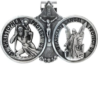 st. christopher visor clip - paschallambselect.com