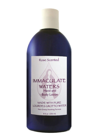 Rose Scented Immaculate Waters Lotion - The Paschal Lamb