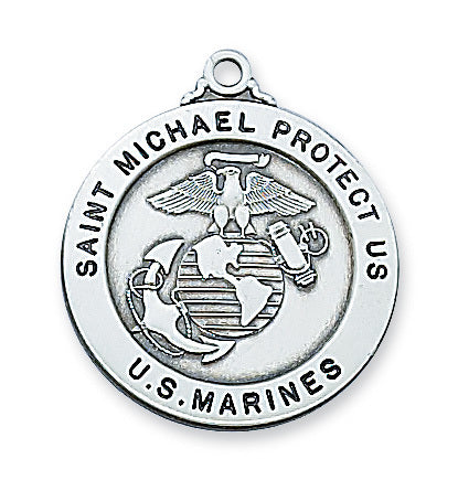 U.S. Marines St. Michael Medal - The Paschal Lamb