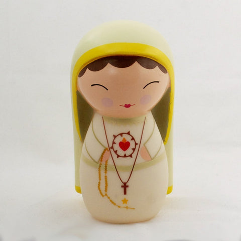 Our Lady of Fatima Shining Light Doll - paschallambselect.com