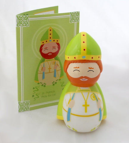 Saint Patrick Shining Light Doll - paschallambselect.com