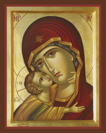 Theotokos Tender Mercy - The Paschal Lamb