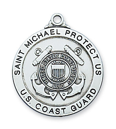 U.S. Coast Guard St. Michael Medal - The Paschal Lamb