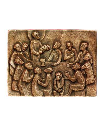 Last Supper Wall Plaque - The Paschal Lamb