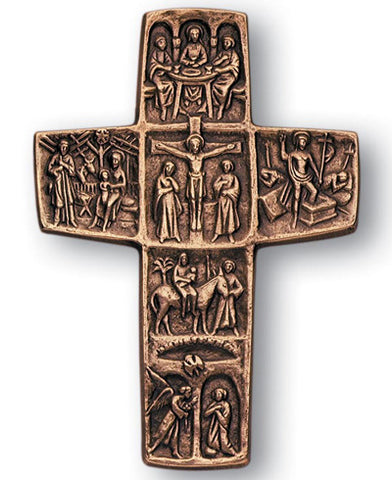 Life of Christ Cross - The Paschal Lamb