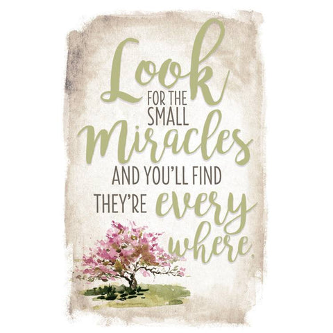 Look for the Small Miracles Plaque - The Paschal Lamb