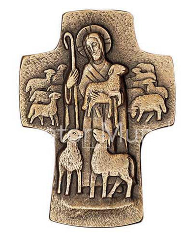 Good  Shepherd Cross - The Paschal Lamb