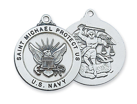 U.S. Navy St. Michael Medal - The Paschal Lamb