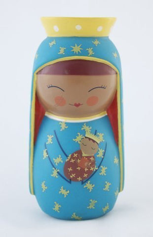 Our Lady of Czestochowa Shining Light Doll - paschallambselect.com