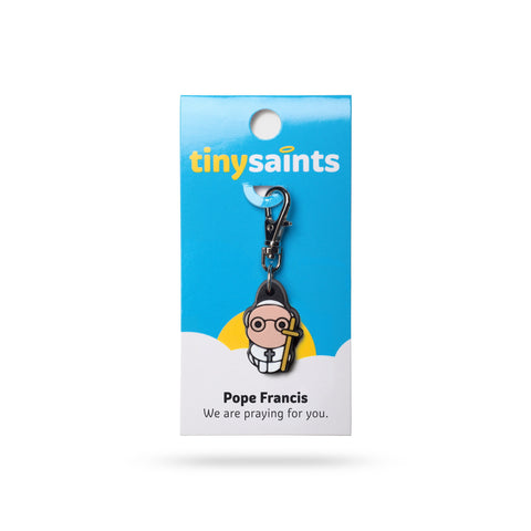 Pope Francis Tiny Saints Charm - paschallambselect.com