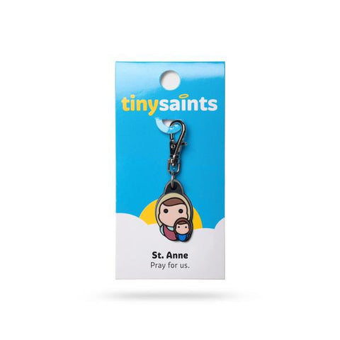 St. Anne Tiny Saints Charm - The Paschal Lamb