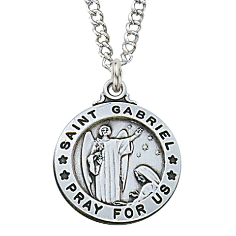 St. Gabriel Sterling Medal - The Paschal Lamb