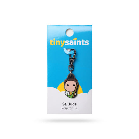 St. Jude Tiny Saints Charm - The Paschal Lamb