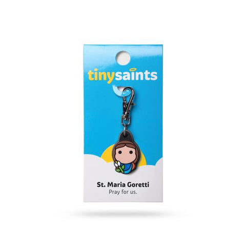 St. Maria Goretti Tiny Saints Charm - The Paschal Lamb
