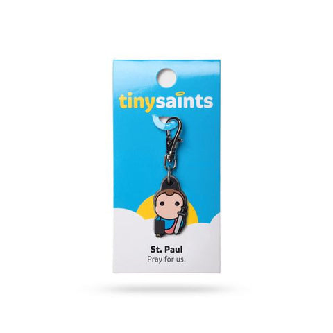 St. Paul Tiny Saints Charm - paschallambselect.com