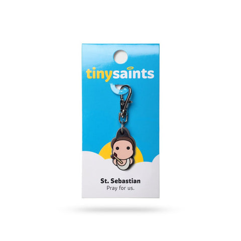 St. Sebastian Tiny Saints Charm - paschallambselect.com