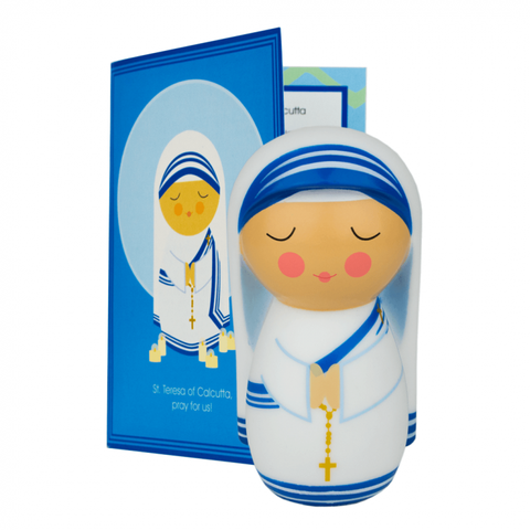 St. Teresa of Calcutta Shining Light Doll - paschallambselect.com