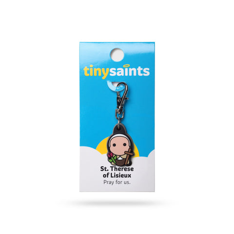 St. Therese of Lisieux Tiny Saints Charm - paschallambselect.com