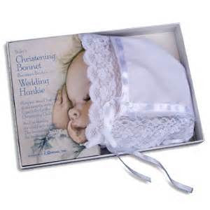 Christening Bonnet - The Paschal Lamb