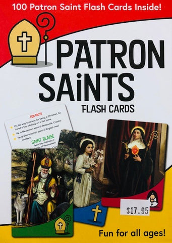 Patron Saints Flash Cards - The Paschal Lamb