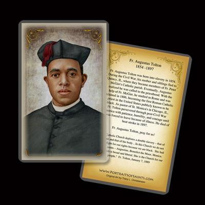 Fr Augustus Tolton Holy Card- paschallambselect.com