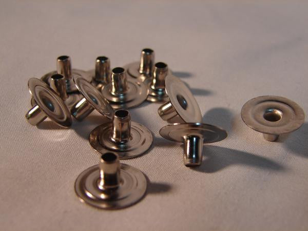 Fasteners (Snaps) Eyelets Brass Stainless 10412