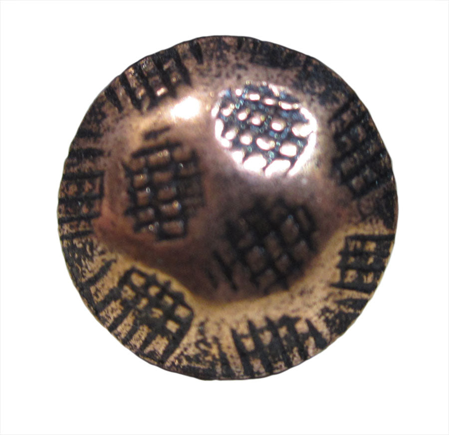 Hammered Copper Renaissance Decorative Nail Heads HC912