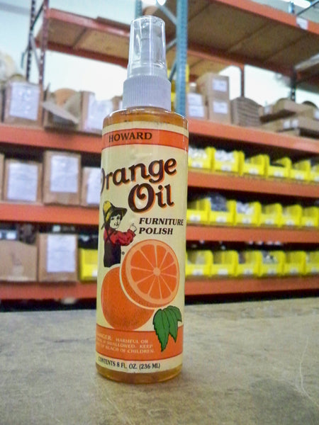 HOWARDS ORANGE  OIL 8 0Z.