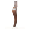 LL2910W Front Chair Legs - Walnut Finish