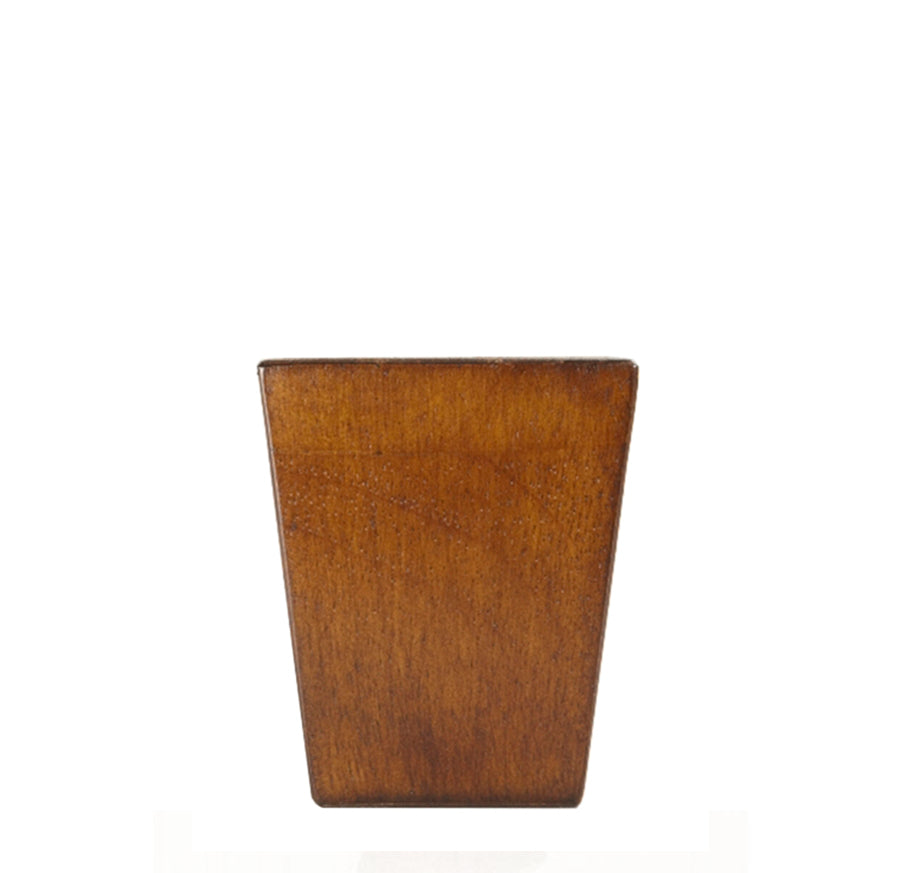 LQ3025W Square Furniture Legs - Walnut Finish