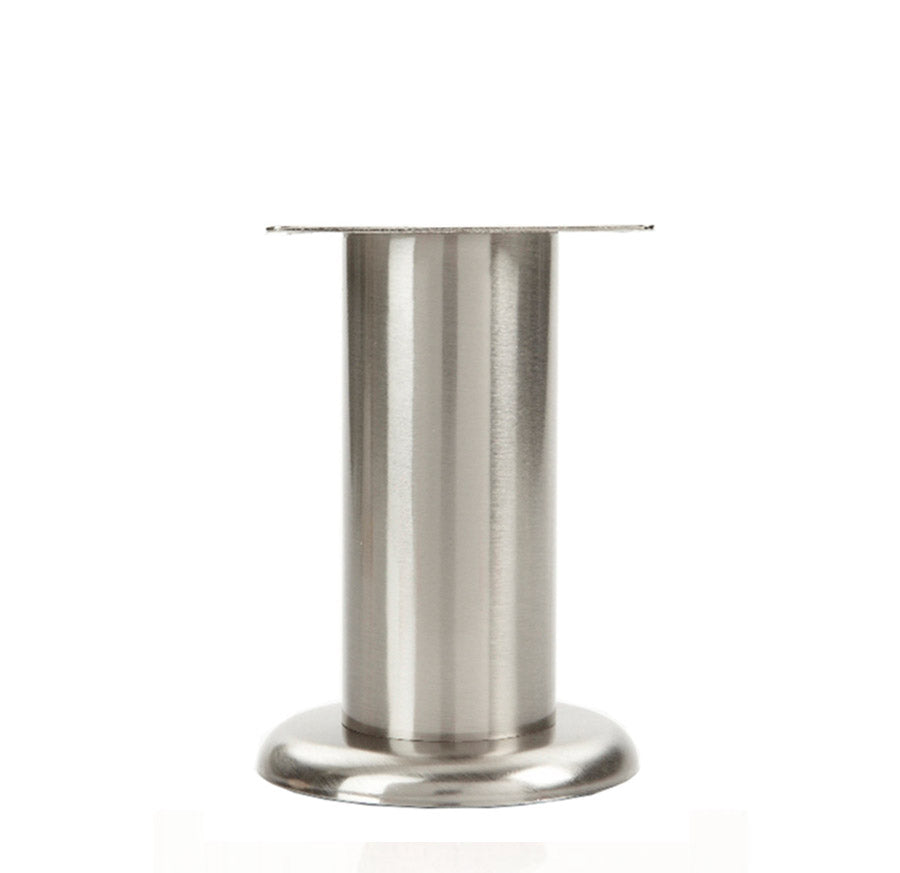 LR4735-B Metal Furniture Leg - Brushed Nickel