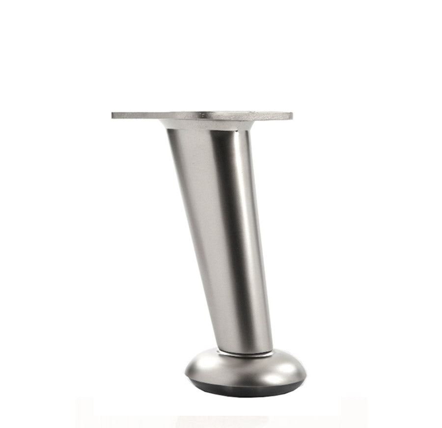 LR5022-B Metal Furniture Legs - Brushed Nickel