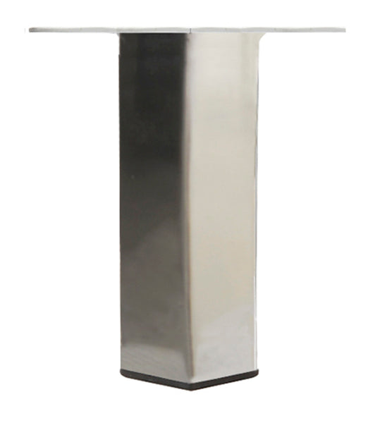LRQ3840C Metal Furniture Legs - Brushed Nickel