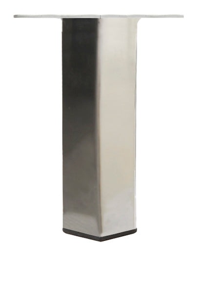 LRQ3850C Metal Furniture Legs - Brushed Nickel