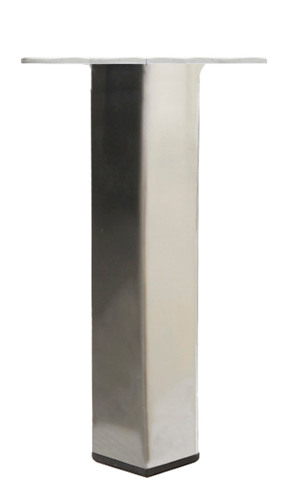 LRQ3880C Metal Furniture Legs - Brushed Nickel