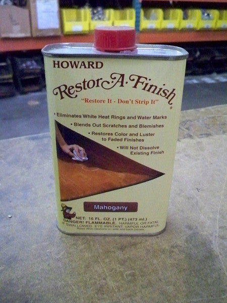 HOWARDS RESTORE-A-FINISH - GOLDEN OAK 8 OZ.